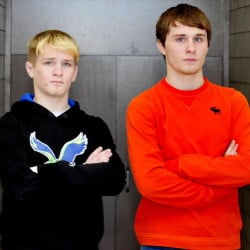 Skowhegan's Cody Craig, left, and Tyler Craig are the Morning Sentinel's Wrestlers of the Year.