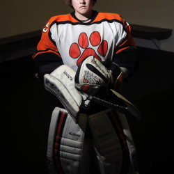 Gardiner Area High School goalie Michael Poirier is the Kennebec Journal Hockey Player of the Year.
