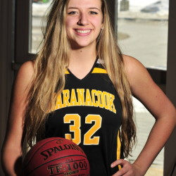 Maranacook Black Bear Christine Miller is the Winter 2014-2015 girls basketball player of the year.