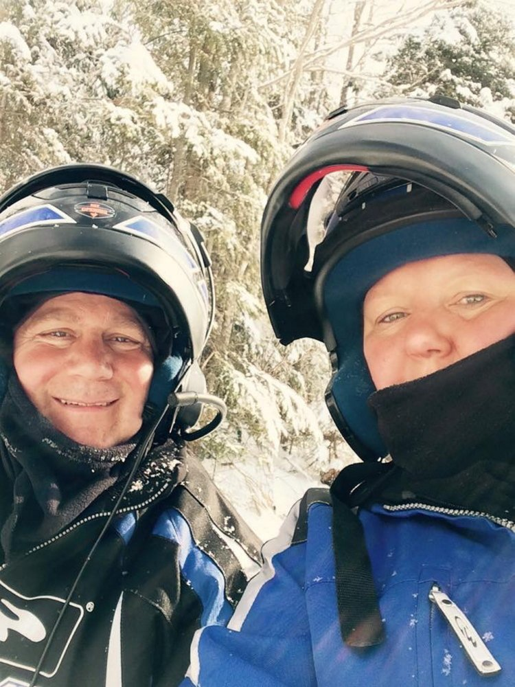 David and Laurie Clark praised rescue workers who came to their aid after a snowmobile crash in northern Somerset County on Easter Sunday.