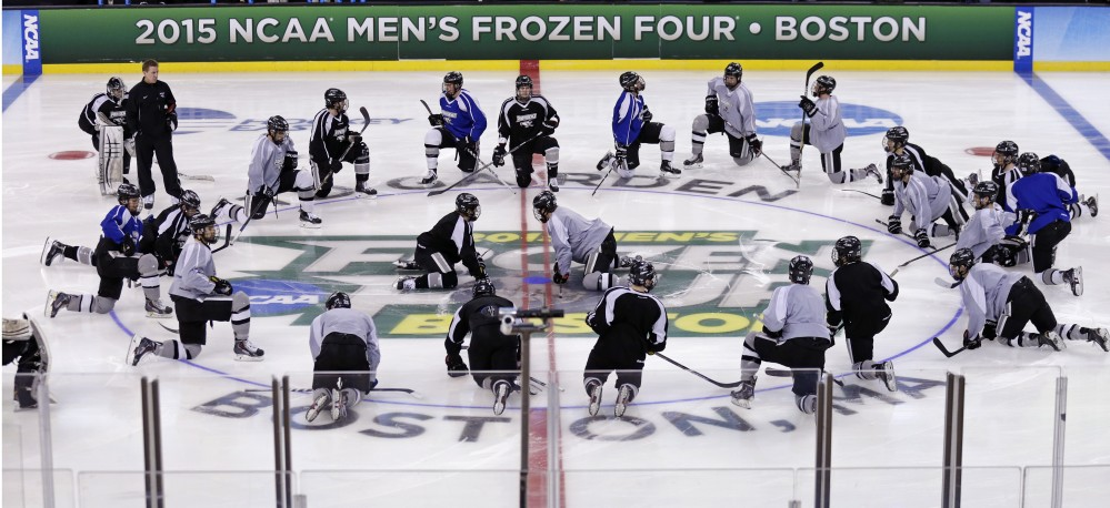 Frozen Four sports new team with old favorites - Central Maine