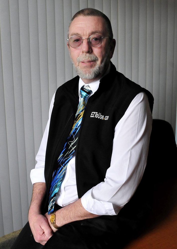 Gary Poulin of EZtoUse.com has been awarded the Elias A. Joseph Award by Mid-Maine Chamber of Commerce for his dedication to the community and his volunteer efforts.