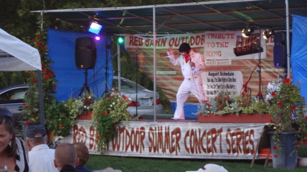 The Red Barn hosts a summer concert series and is proposing to also host car shows on Tuesday nights.