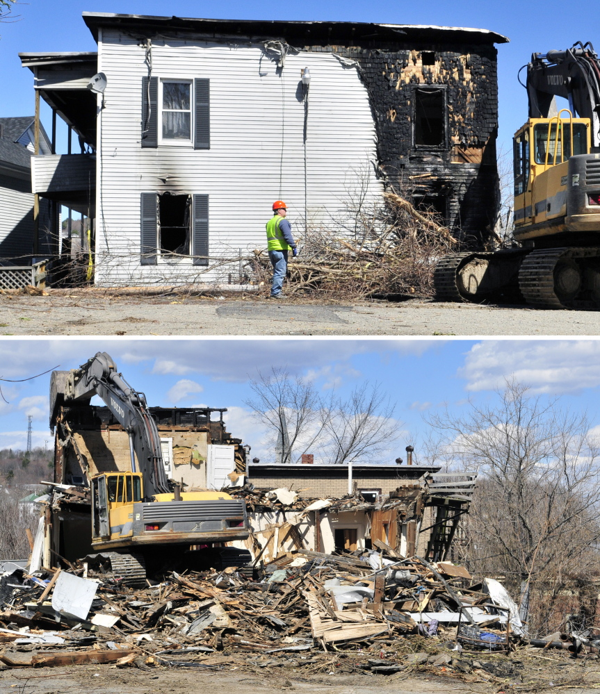 Apartments For Rent In Augusta Maine: Augusta Apartment Building Damaged By Fire Torn Down