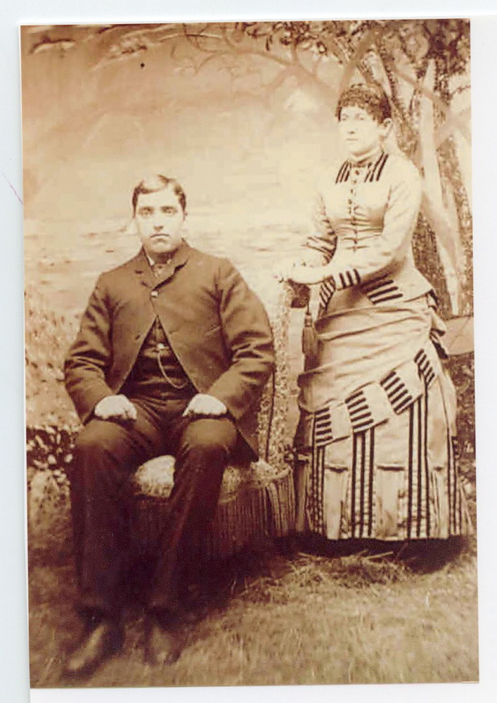 Gedeon Picher and his wife, Alvine Maheu, a native of Waterville, were married in 1887 in Notre Dame Catholic Church. The couple had 12 children, many of whom helped run the plumbing and furniture business that Picher opened after closing his portrait studio.