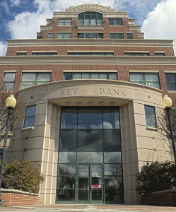 Key Plaza at 286 Water St. in downtown Augusta provides office space to many state workers, some of whom may be relocated under a proposal in Gov. Paul LePage's state budget.