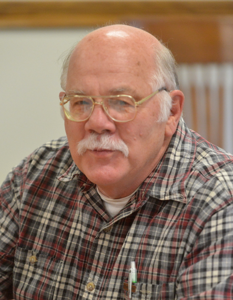 Bill Van Tuinen, the Skowhegan assessors' agent who guided the board's review of an application from Sappi Fine Paper for a $137 million cut in its property tax valuation.