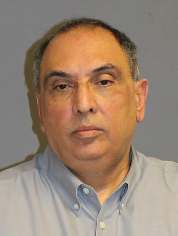 This undated photo provided by the Nashua, N.H. police shows David Wihby, state director for New Hampshire Sen. Kelly Ayotte. Wihby, 62, has resigned after he was arrested Friday, April 3, 2015 in a prostitution sting in Nashua, officials said.