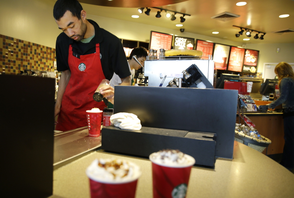 Starbucks said Monday that it will cover four years of tuition instead of just two for an online college degree from Arizona State University.