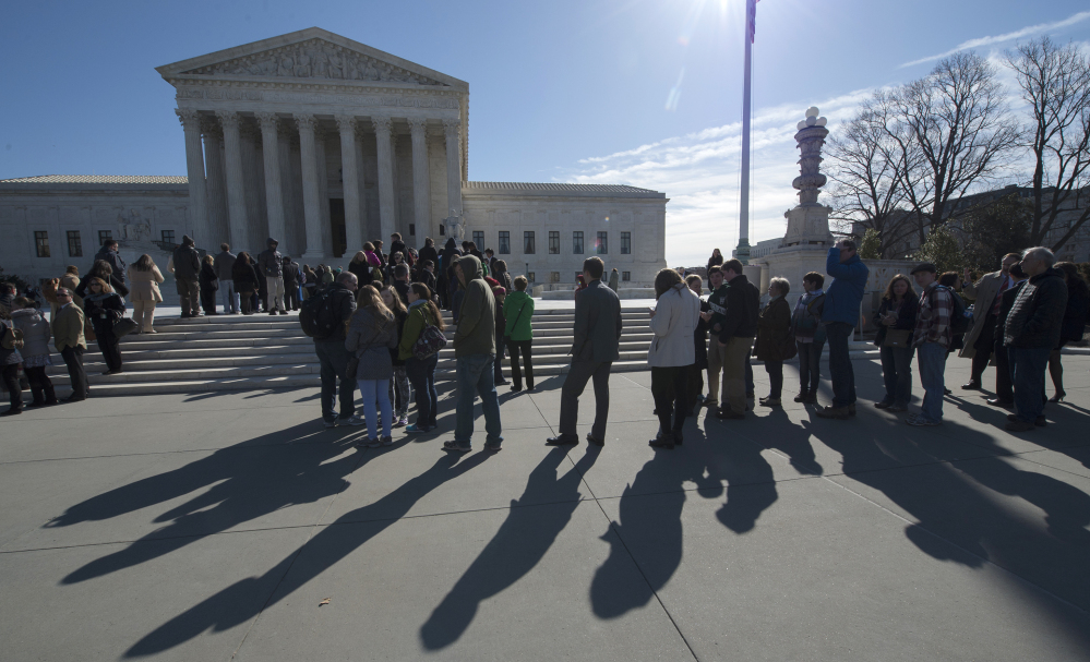 Protesters have expressed their opinions outside the Supreme Court for years, but penalties could be getting steeper for activists who speak out during arguments in the court's chambers.
