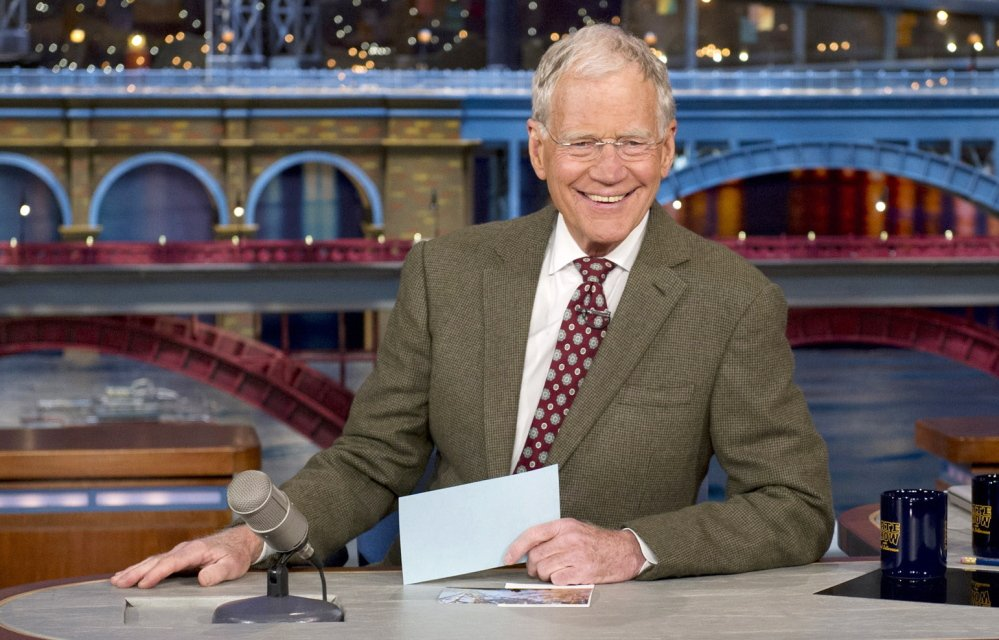 Stars are lining up to appear on David Letterman's show before the longtime late-night host retires May 20.