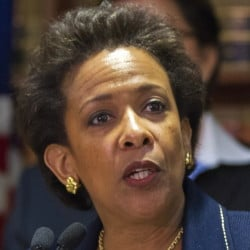 U.S. Attorney Loretta Lynch was nominated by President Obama in November.