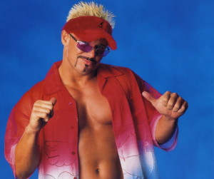 In Westbrook he was Scott Garland, in wrestling Scott Taylor, and finally Scotty 2 Hottie. By any name, he can entertain.