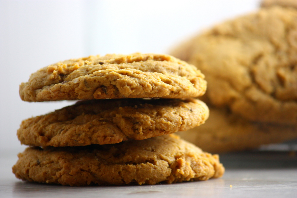 """Tosi calls her Molasses Rye Cookies the """"the oversized flannel shirt of cookies,"""" a marriage of rye bread and a gingersnap."""