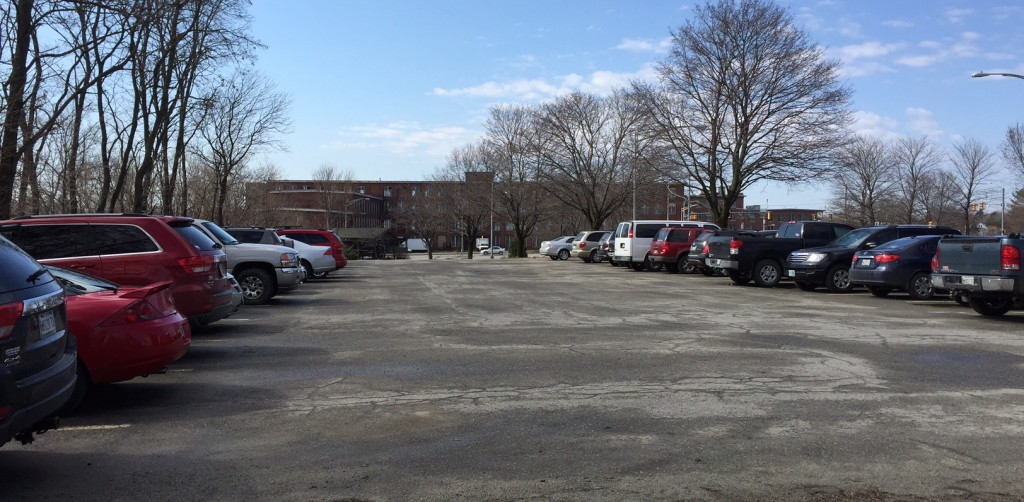 A city-owned parking lot on lower Front Street in Waterville, which has about 60 spaces, will remain completely open to the public after the City Council voted 6-1 Tuesday, April 21, against a proposal to lease 30 of the spaces to the developer of the Hathaway Creative Center.