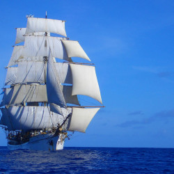 The 179-foot Picton Castle is one of four larger-scale tall ships that are scheduled to come to Portland in July for a three-day festival.