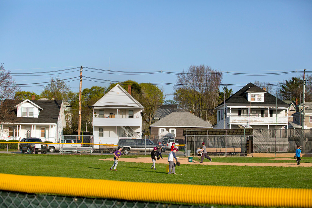 Biddeford residents are expressing concerns that Michael McKeown, a lifetime sex offender registrant, lives across the street from this youth baseball field on May Street.