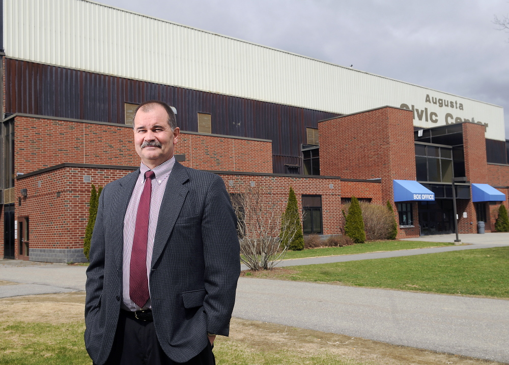 Dana Colwill, director of the Augusta Civic Center, says increased competition from Bangor performance sites is affecting the types of concerts he is able to draw to Augusta.