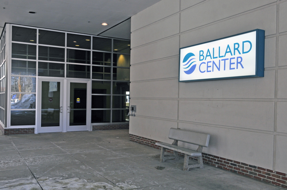 The Ballard Center on the east side of Augusta will open at 9 a.m. Monday as the temporary home of Augusta's Lithgow Public Library.