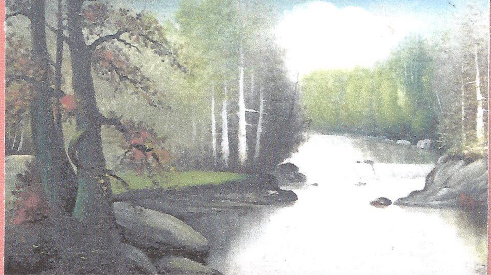 Willis Pelton's landscapes are prized by a group of collectors in Somerset County for their sense of 19th-century romanticism.