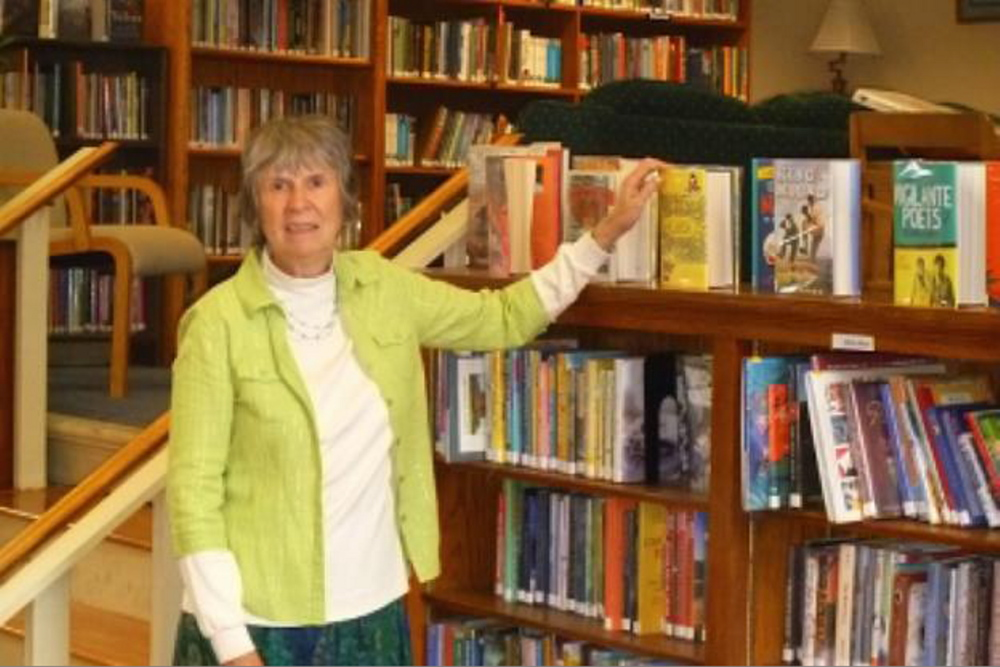 Charlene Wagner, Gardiner Public Library's children's librarian who is retiring after 35 years, will be honored on Friday.