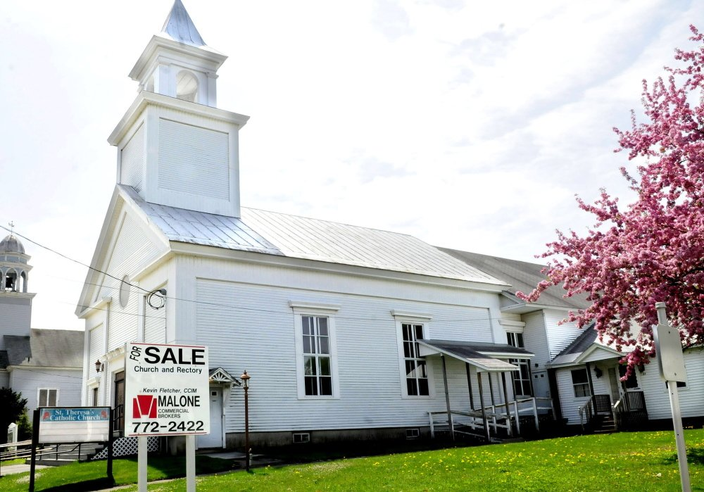 St. Theresa's church in Oakland, seen on Monday, has been sold by the Roman Catholic Diocese of Portland to Our Lady of the Most Blessed Sacrament Church Inc., a group of independent Catholics.