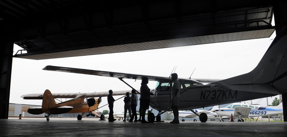 Maine Instrument Flight is proposing to build a new hangar at the Augusta State Airport.
