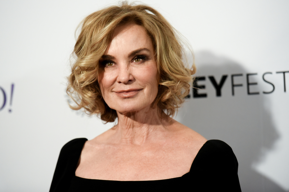 "The Associated Press In a Sunday, March 15, 2015 file photo, Jessica Lange arrives at the 32nd Annual Paleyfest : ""American Horror Story: Freak Show"" held at The Dolby Theatre, in Los Angeles."