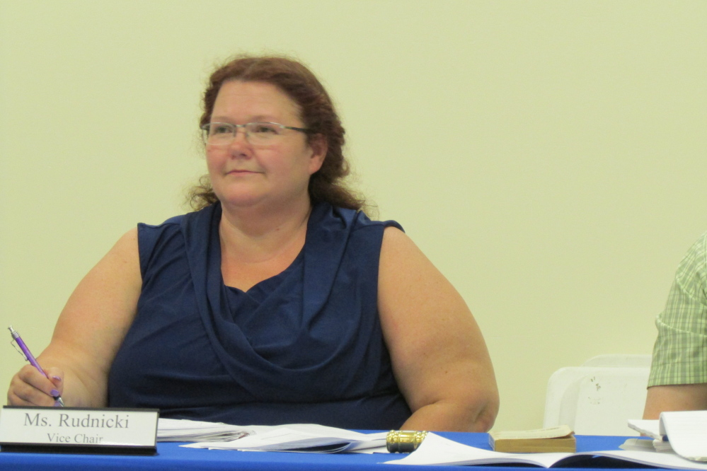 School Administrative District 49 Vice Chairman Shelley Rudnicki, of Fairfield.
