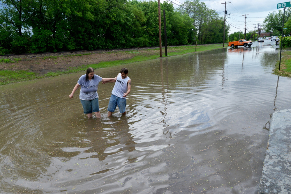 Storms knock out power, bring flooding to Kennebec ...
