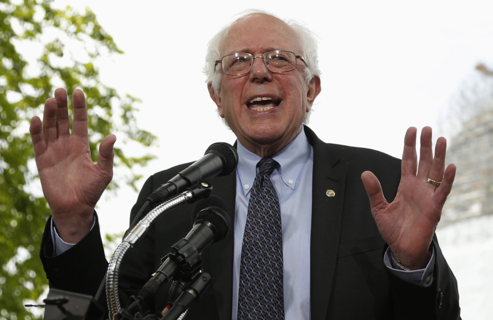 Sen. Bernie Sanders, I-Vt., kicked off his presidential campaign in Washington in April with a classic underdog pitch about economic inequality and class warfare.