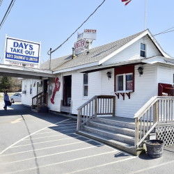 Day's Crabmeat & Lobster includes a lobster pound and a take-out business. On a busy summer weekend it sells as many as 2,700 pounds of lobster, which some customers eat on picnic tables in the back overlooking a marsh.