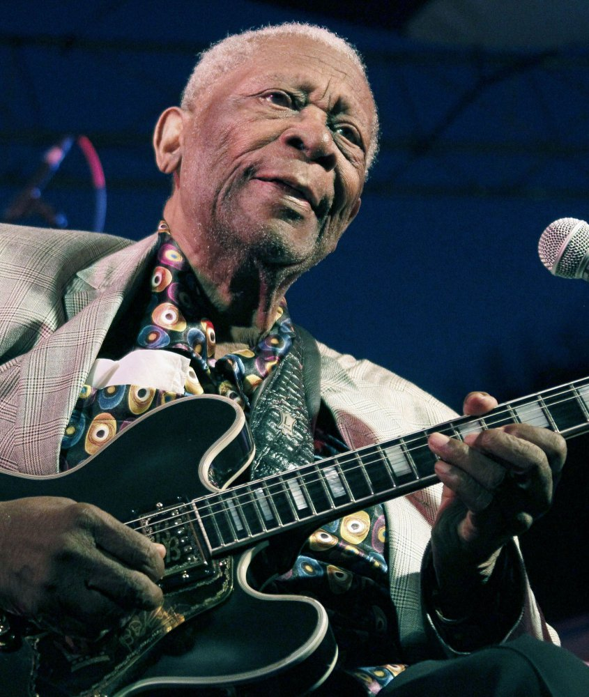 B.B. King performs in 2012. The 89-year-old blues legend is undergoing home hospice care.