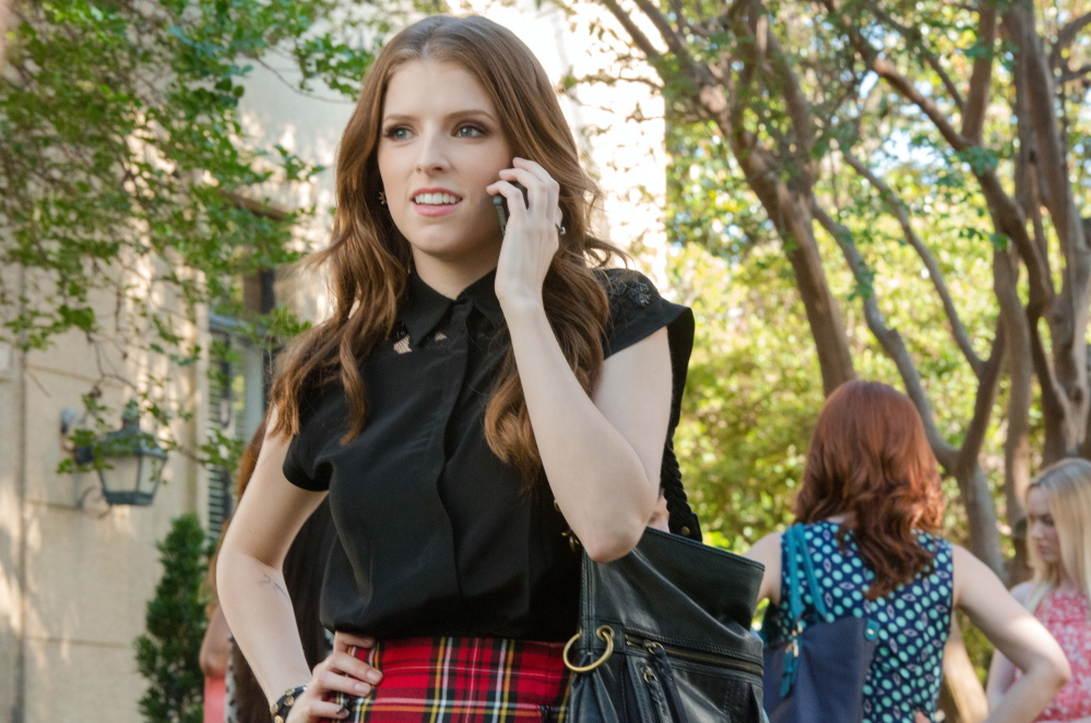 """Maine native Anna Kendrick plays Beca in """"Pitch Perfect 2."""""""