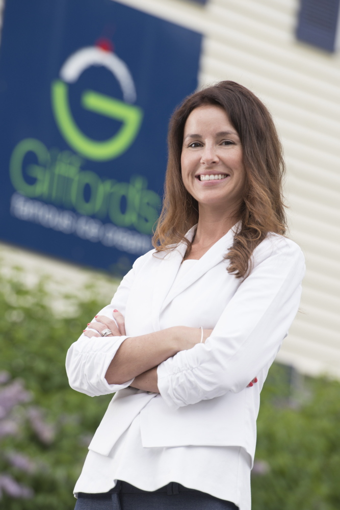 Lindsay Gifford Skilling earned a bachelor's degree in business administration and has risen through the ranks at Gifford's Famous Ice Cream to become its top manager.