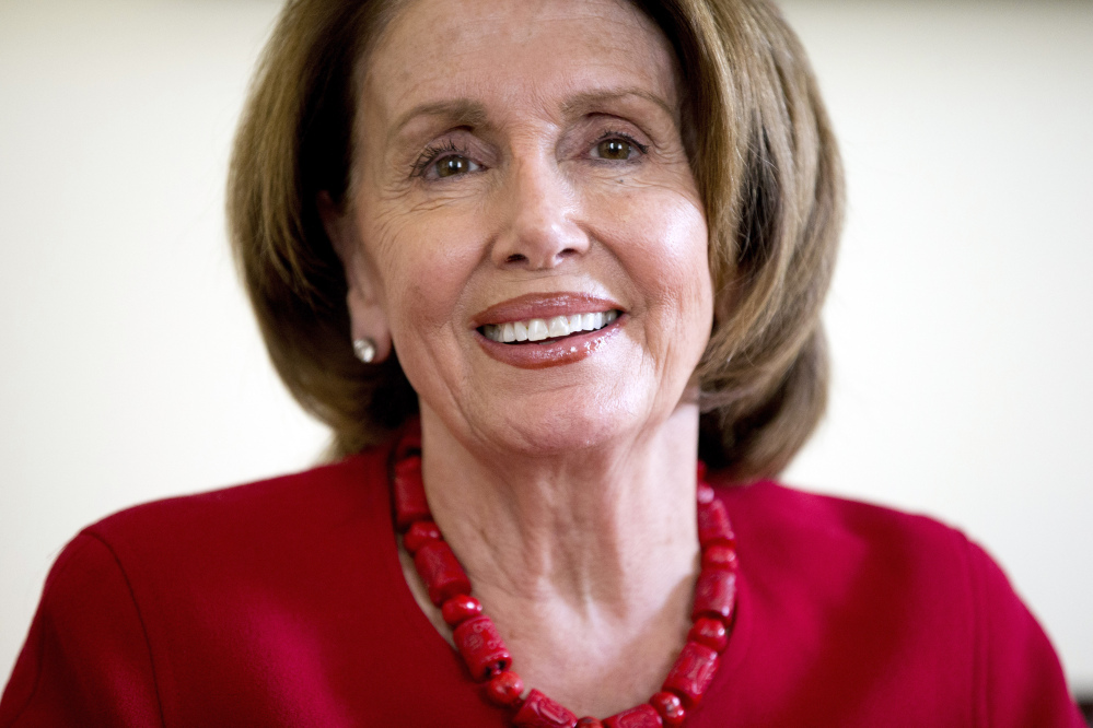 House Minority Leader Nancy Pelosi of California is on the spot as President Obama pursues his top second-term goal, a major trade deal.