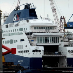 The Nova Star ferry will be open for tours Sunday. Press Herald file photo