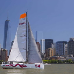 The high performance 40-foot sailboats coming to Portland next summer will compete for a $20,000 prize pool. Photo by Atlantic Cup/Billy Black