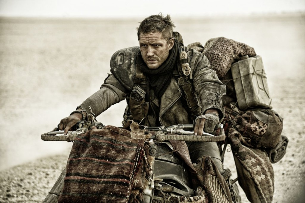 """Tom Hardy stars as Max Rockatansky in the post-apocalytic """"Mad Max:Fury Road,"""" a Warner Bros. Pictures release. Warner Bros. Pictures via AP"""