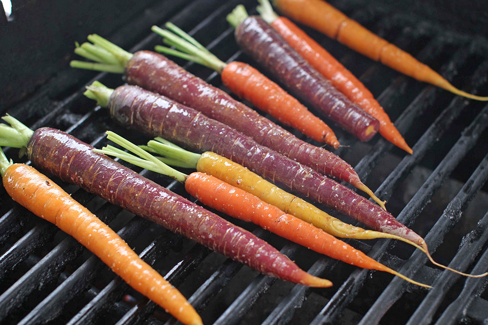 A recipe that starts with about two bunches of carrots makes about 6 servings. The Associated Press
