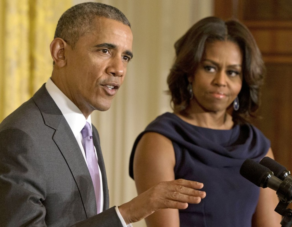 Both the president and first lady once worked at the University of Chicago, and they still maintain a house near campus. The Associated Press