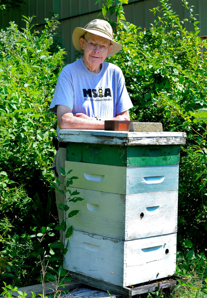 Stanford Brown ran a beekeeping supply shop in North Yarmouth and kept about 50 hives of his own.