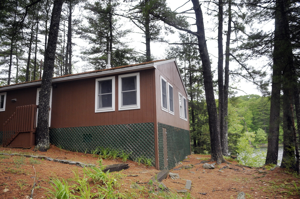 The City of Augusta's camp at Bicentennial Nature Park on Three Cornered Pond in Augusta, where raffle winners will get a six-night stay as part of a fundraiser for the park.