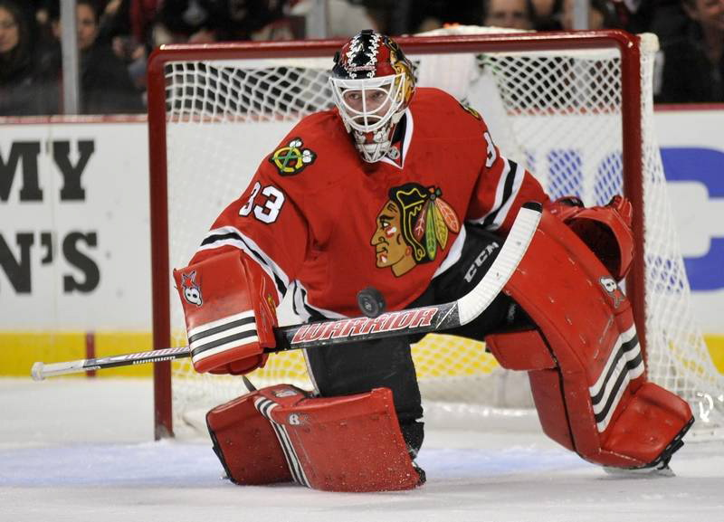 AP photo   Scott Darling is a backup goalie for the Chicago Blackhawks. Darling once played two seasons for the University of Maine.