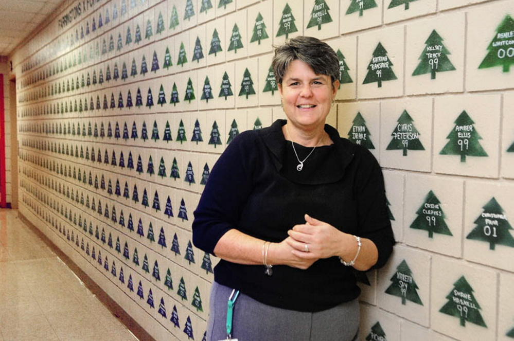 Farrington Elementary School principal Lori Smail, shown here in 2013 when she was honored for her work, recently resigned abruptly after testing irregularities were discovered at the school.