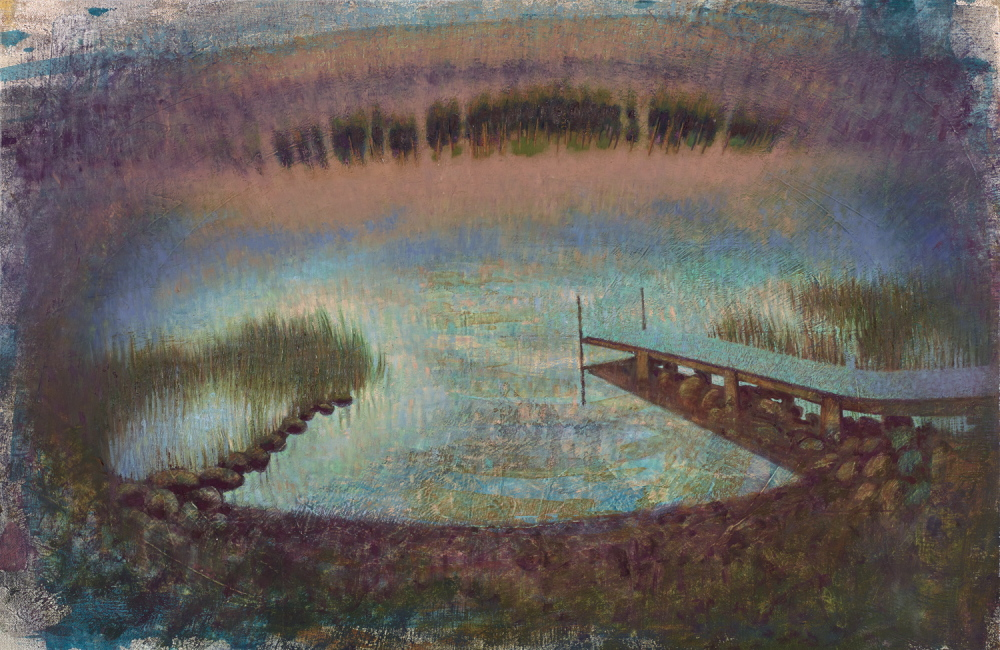 """Ashaloona Dock"" By Richard William Blanchard"