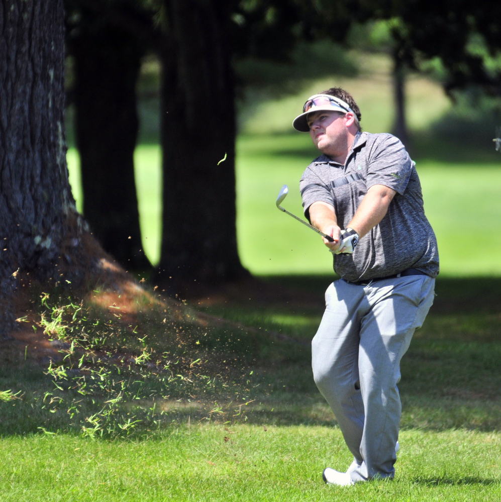 Ryan Gay competes during the Maine Open last July at the Augusta Country Club in Manchester. Gay plans to compete in a variety of tournaments across the East coast as well as in Canada.