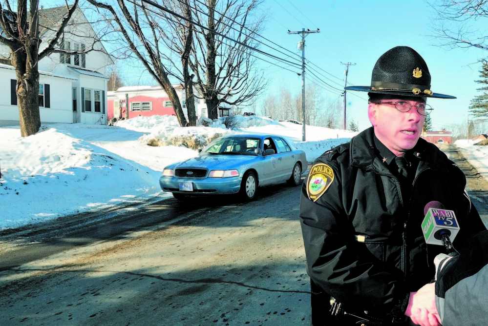 Clinton Police Chief Craig Johnson, seen at a crime scene in 2011, said Thursday he was surprised that the proposed police budget was rejected by voters Tuesday.
