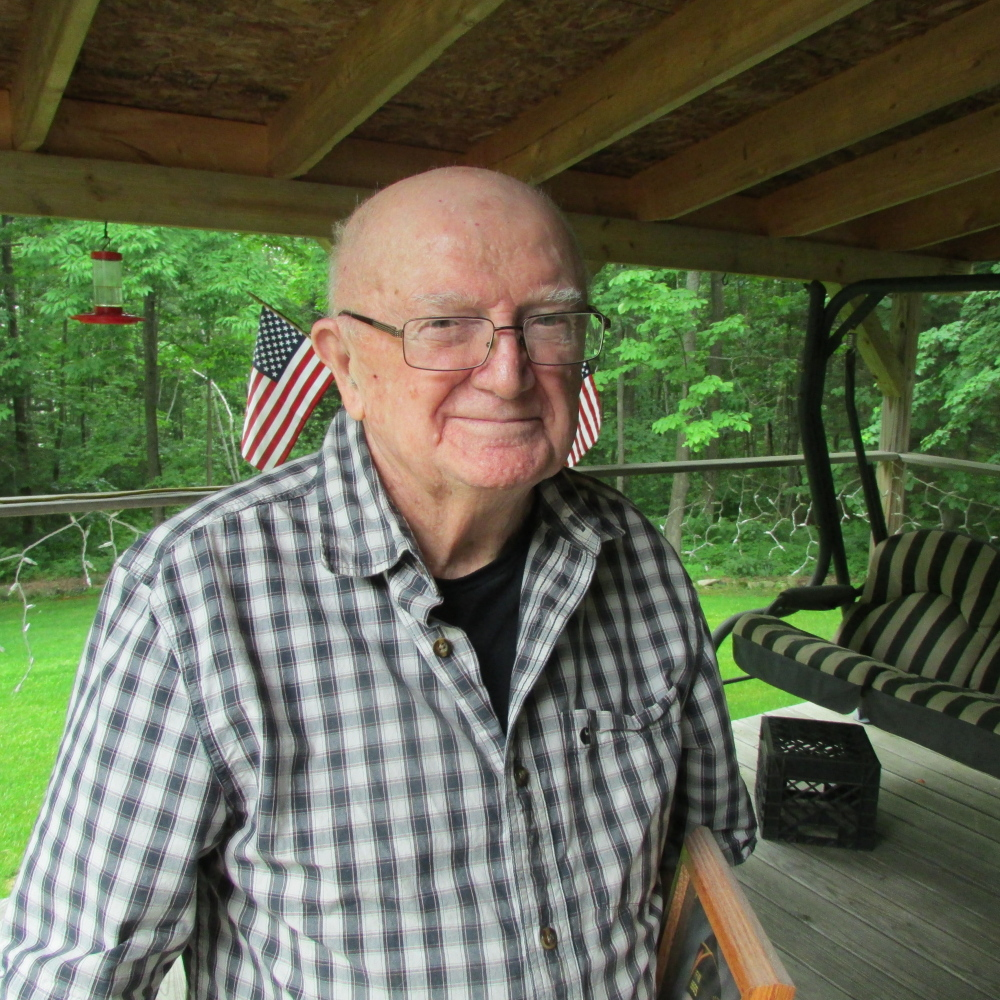 George Prentiss, 92, a World War II veteran from Fairfield, has been named the grand marshal of the 2015 Winslow Family 4th of July Celebration parade.