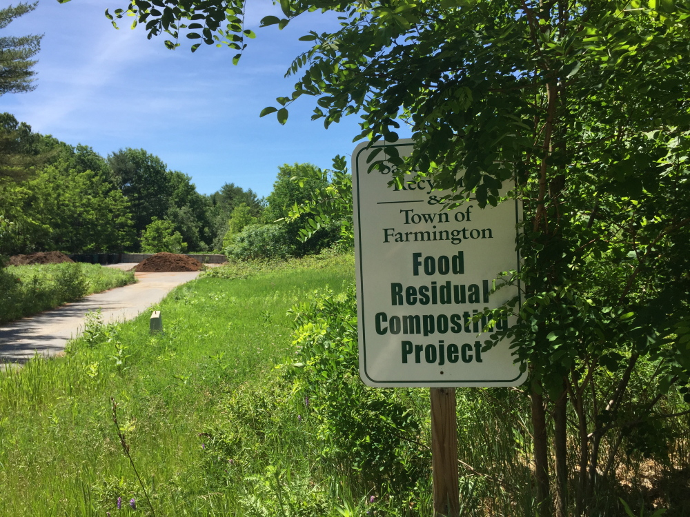 The Farmington compost program, located at the former Sandy River Recycling site, is getting rid of waste while providing revenue for the town.